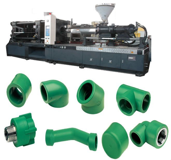 China ppr pipe fitting injection molding machine