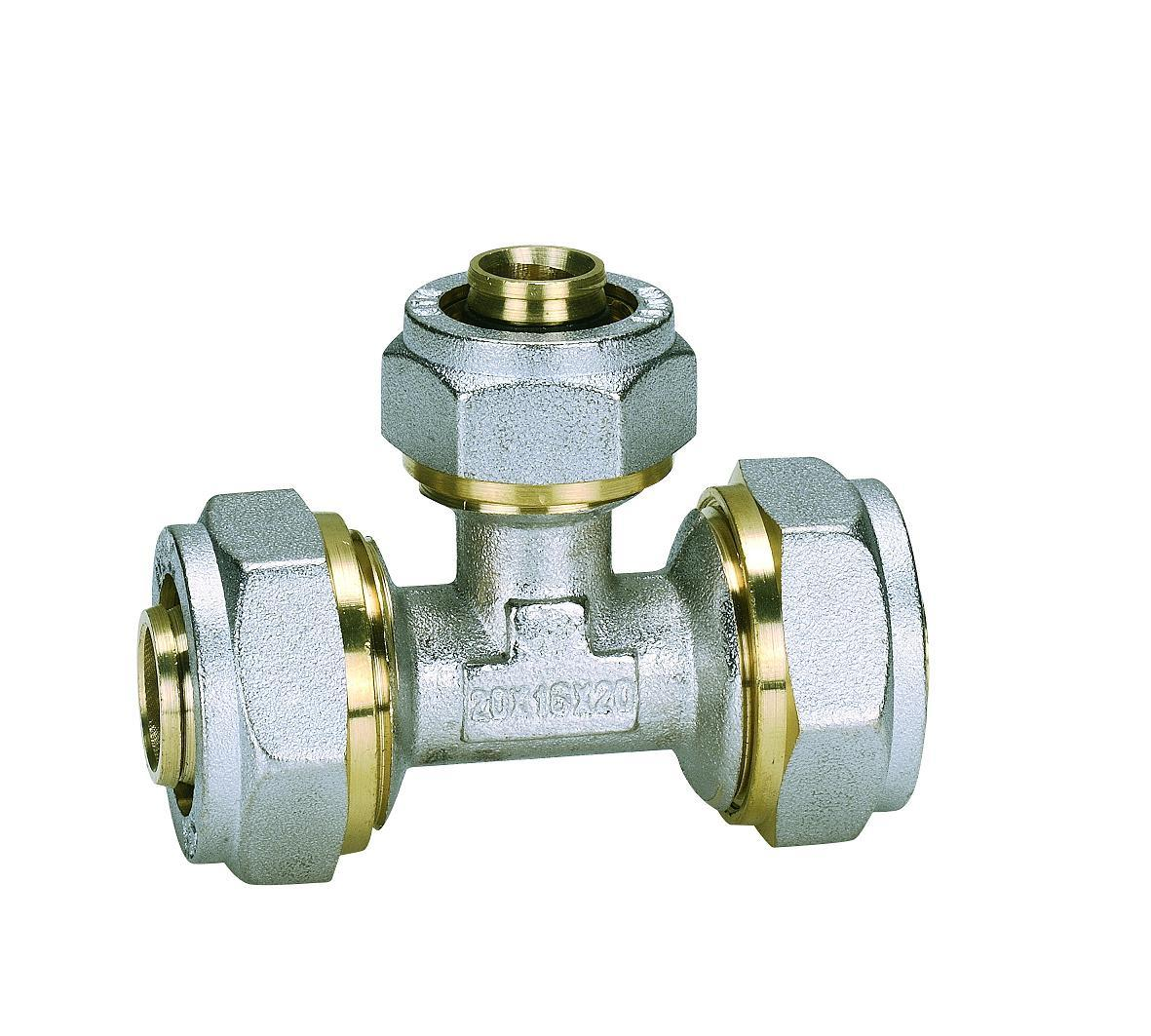 Brass Fittings for Equal Tee