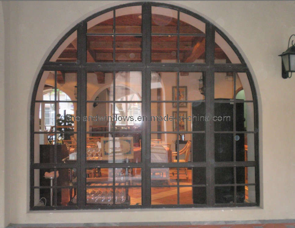 China Aluminium Arched Window Fl Af604 China Arched