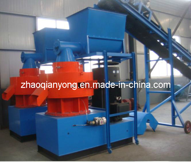 9cksh Series Double Ring Mould Verticai Wood Sawdust Pellet Mill