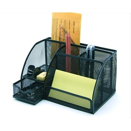 China Office Supply Stationery Set Metal Crafts Desk Organizer Z9065 China Desk Organizer
