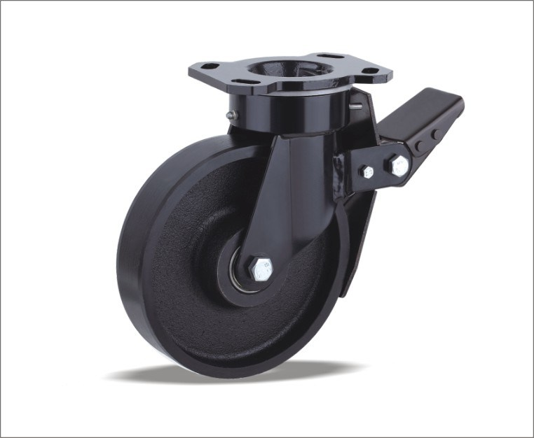 Swivel Caster With Cast Iron Wheel