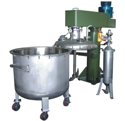 vacuum mixing machine