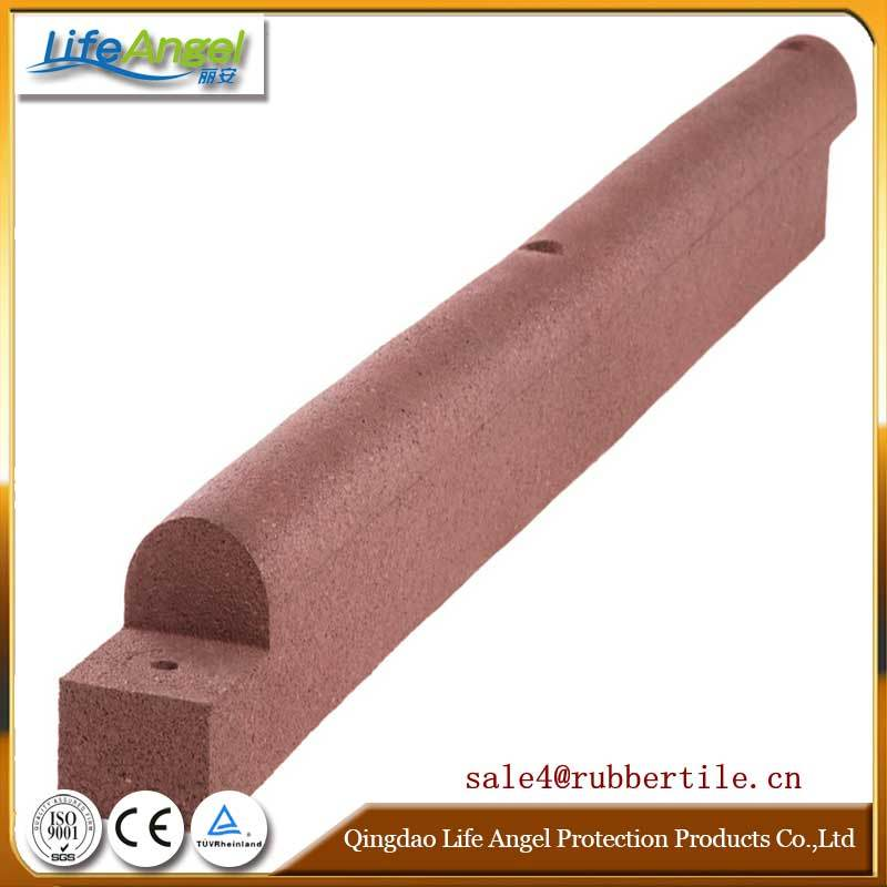 Exterior Playground Garden Safety Rubber Edge Border