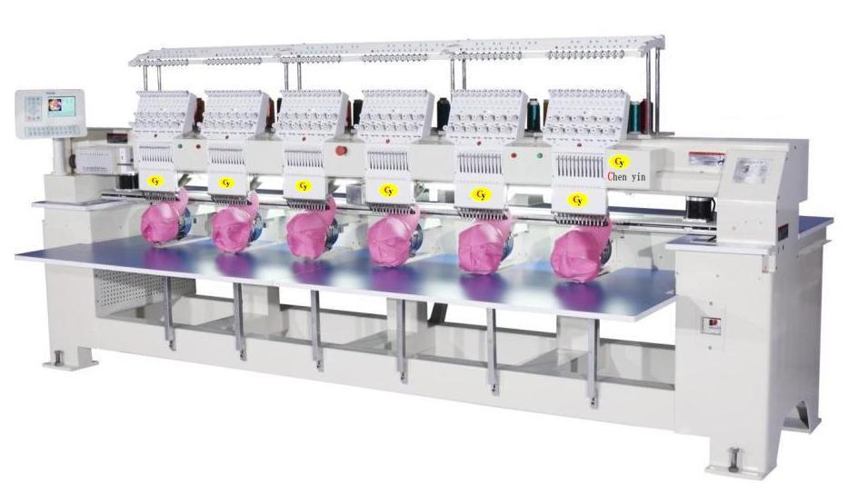 six embroidery machine