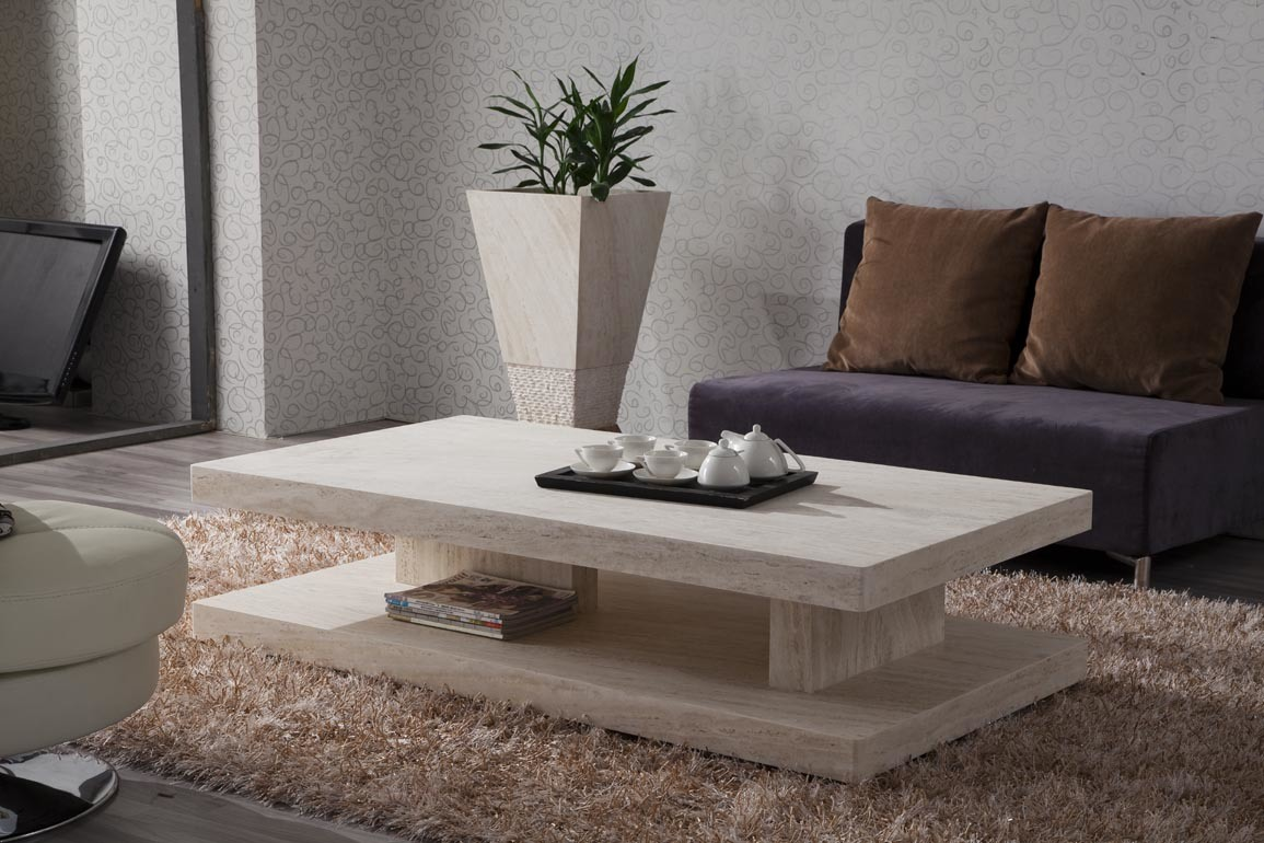 China Marble Coffee Table Furniture (D8807#) - large image for ...