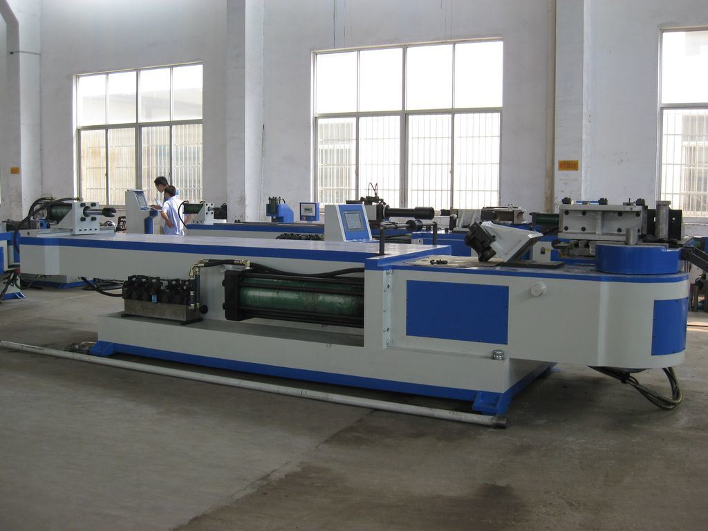 Carbon Steel Pipe Bending Machine (GM-SB-168NCB)