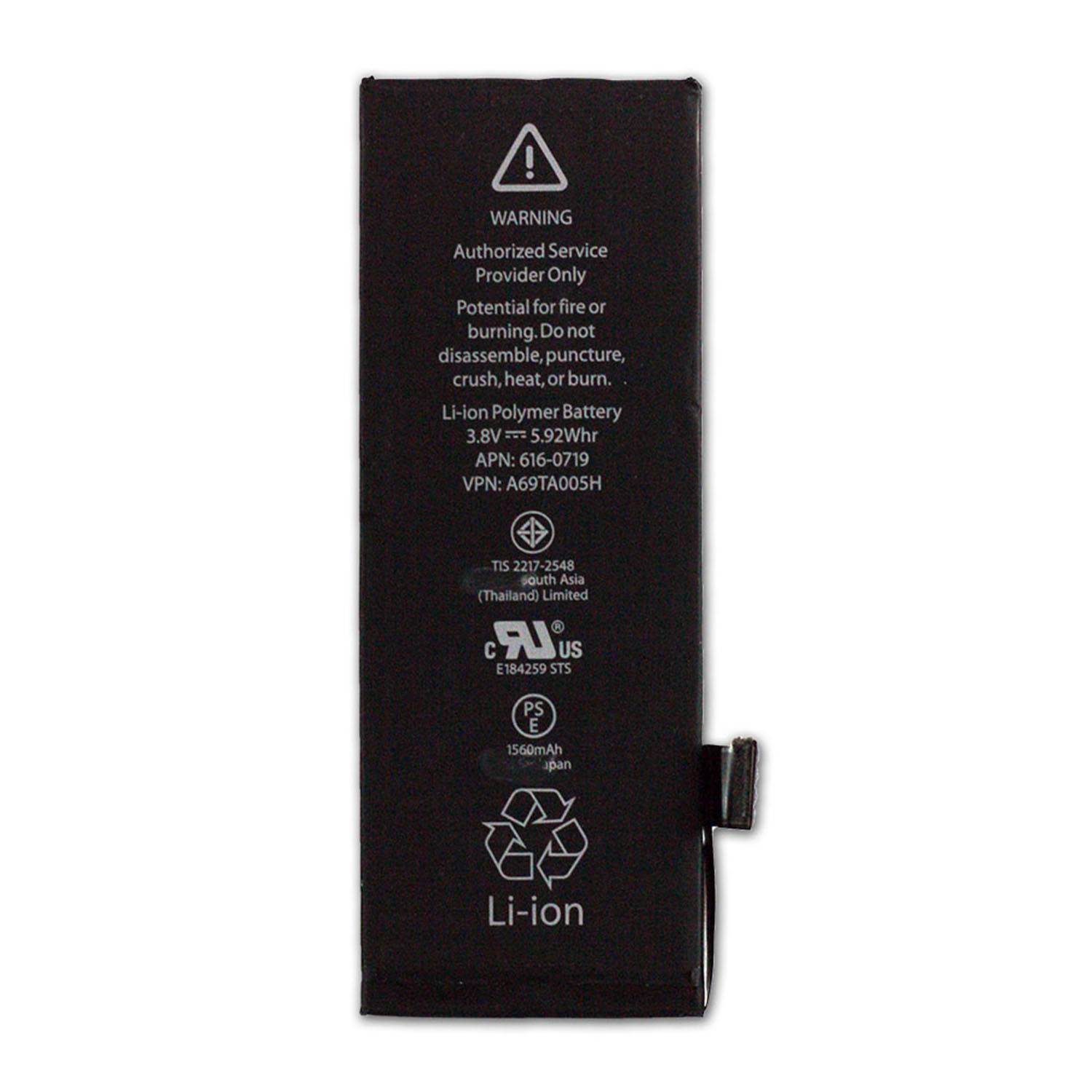 Mobile Phone Battery for iPhone 5s iPhone 5