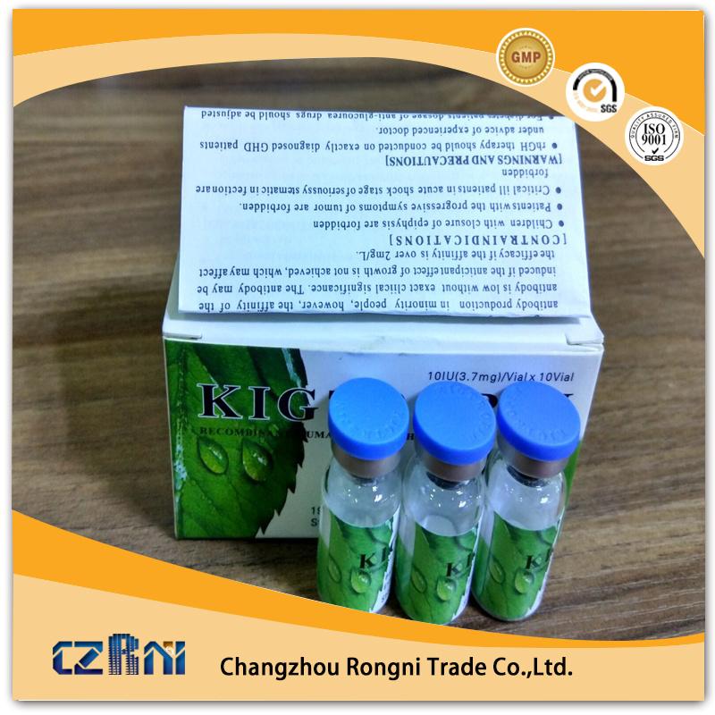 Hot Sale Human Growth Steroids Hormone Hg Kig Jin Hyg 191AA 10iu/Vial