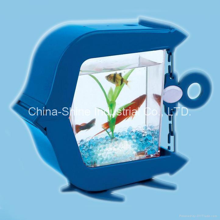 China USB Mini Aquarium/USB Fish Tank (CS-UA01B) - China pet products ...