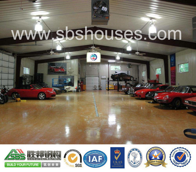 Professional Engineered Prefabricated Steel Structure Warehouse