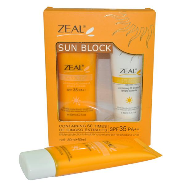 Zeal Skin Care Sunblock Cream Cosmetic