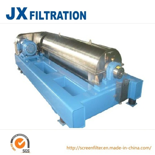 Horizontal Continuous Operation Scroll Discharge Decanter Centrifuge