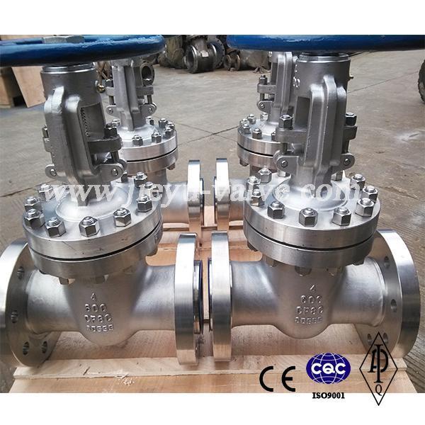 API CF8c/321 Stainless Steel Gate Valve 600lb 4inch