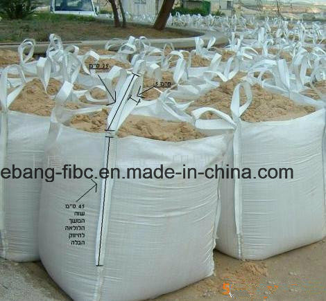 FIBC Super Sacks for Sand Gravel Pellets and Salt