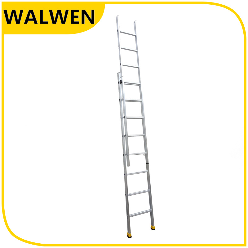 Hot Sale Strong Movable Flexible Telescopic 2*8 Step Aluminum Ladder