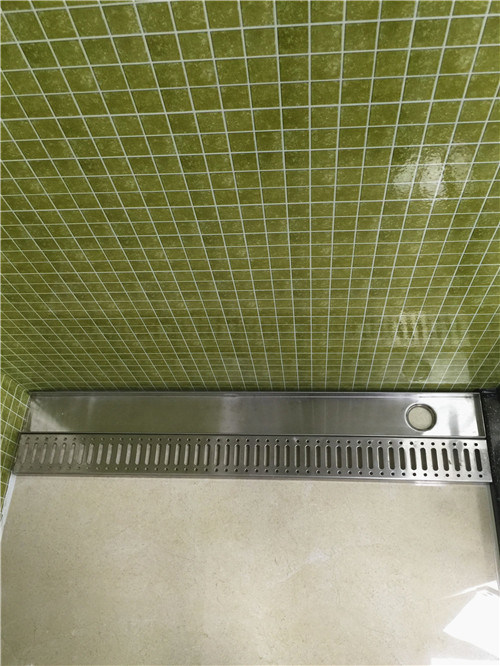 Convenient Stainless Steel Shower Linear Floor Drain (CY-28)