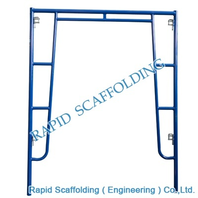 Steel Walkthrough Frame Scaffolding High Quality PC Blue