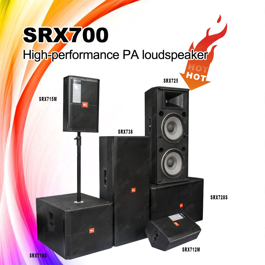 Speaker Box of Srx700 Series Professional PA Speaker