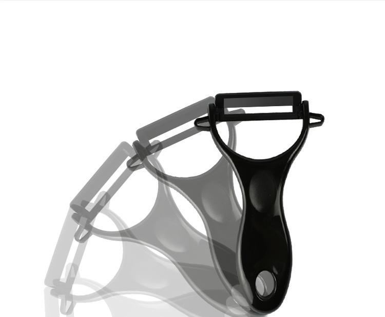 Adjustable Matt Black Blade Ceramic Kitchen Peeler The Best Julienne Peeler
