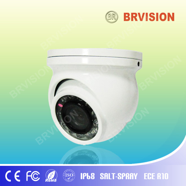 IR LED Bus Small Dome Night Vision Video Camera