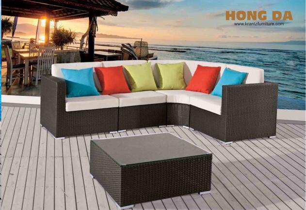 Outdoor Leisure Rattan Furniture Sofa