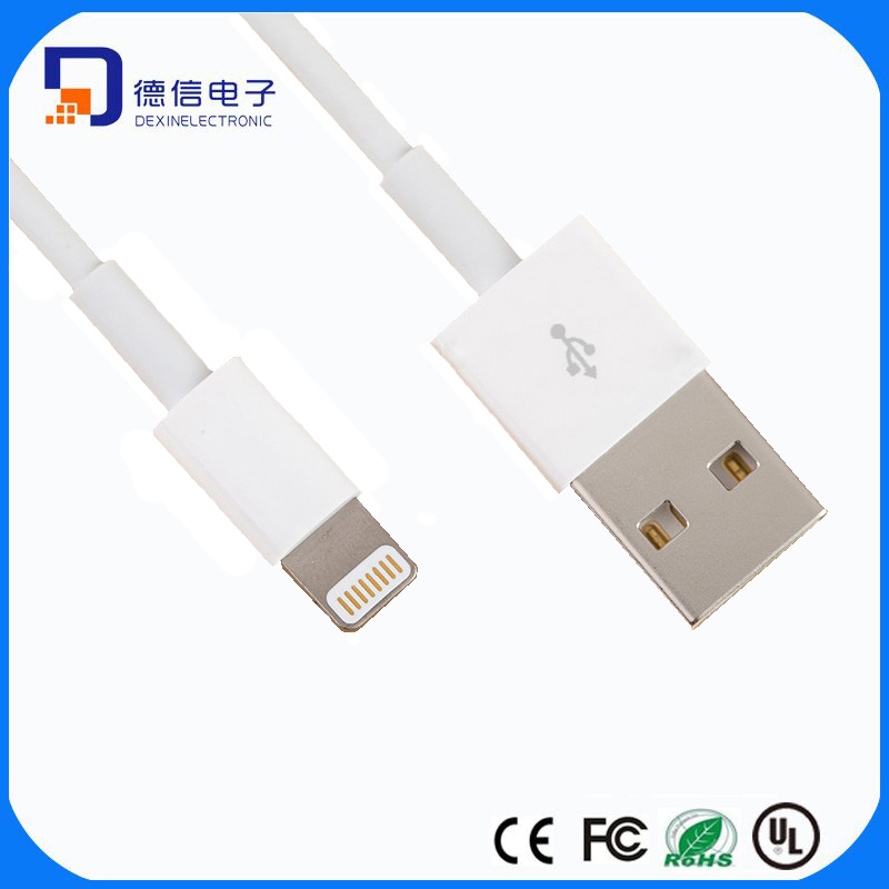 Mfi Certification 8pin Lightning USB Cable for iPhone 7