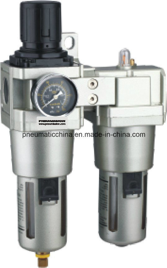 Filter Regulator+Lubricator AC1010-AC5010 Series Air Source Treatment Unit