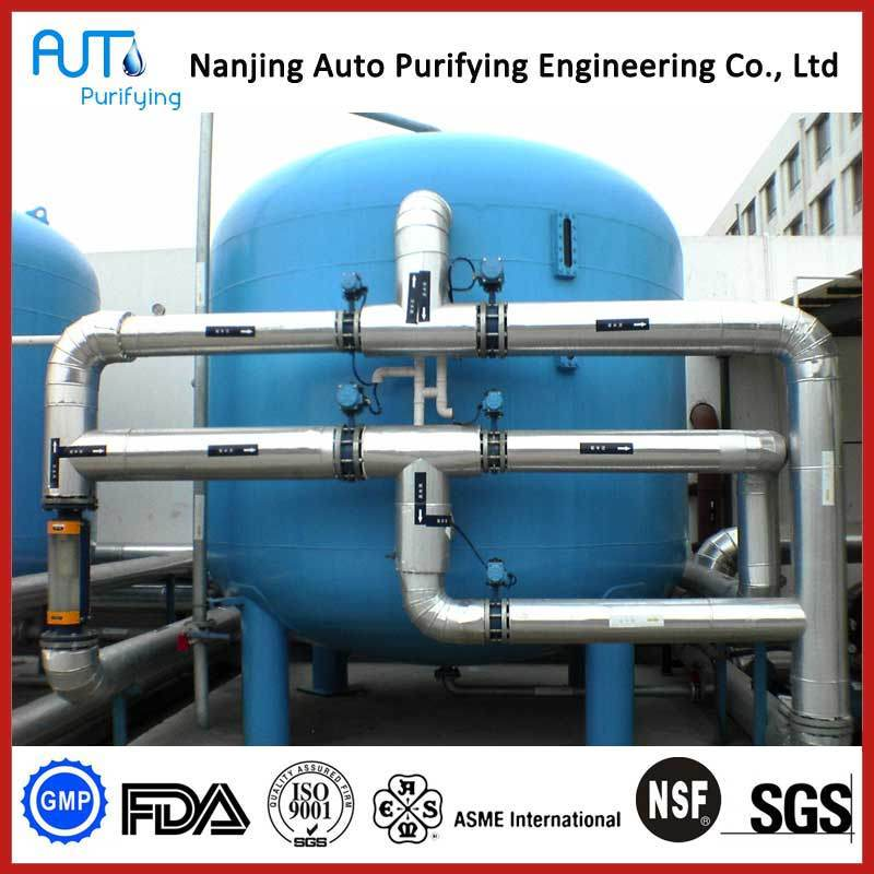 Industrial Sand Filter Mmf Water Filtration System Sand Carbon Filter