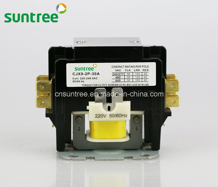 Cjx9 Air Conditioning Magnetic Contactor Air Conditioner Contactor