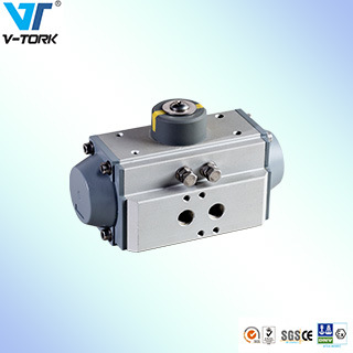 Pneumatic Actuator 5 Port 2 Way Double Acting Actuators Ball Valve