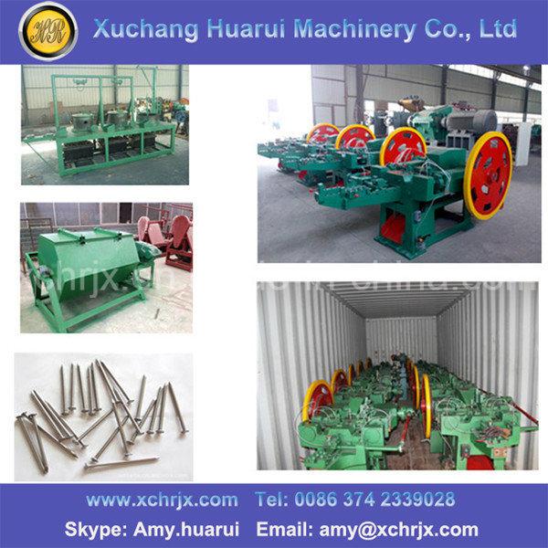Automatic Nail Production Line/Wire Nail Making Machine/Nail Making Machinery
