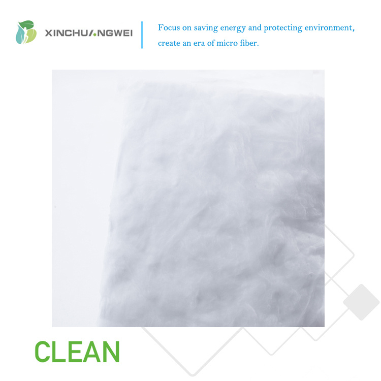 Formaldehyde Free White Glass Wool Environmental Friendly Thermal Insulation Material