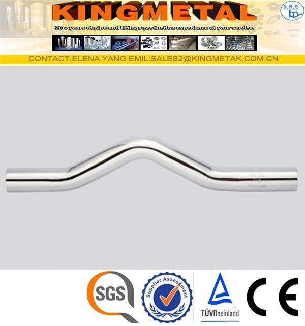F304/316 Stainless Steel Press Pipe Bridge Fittings