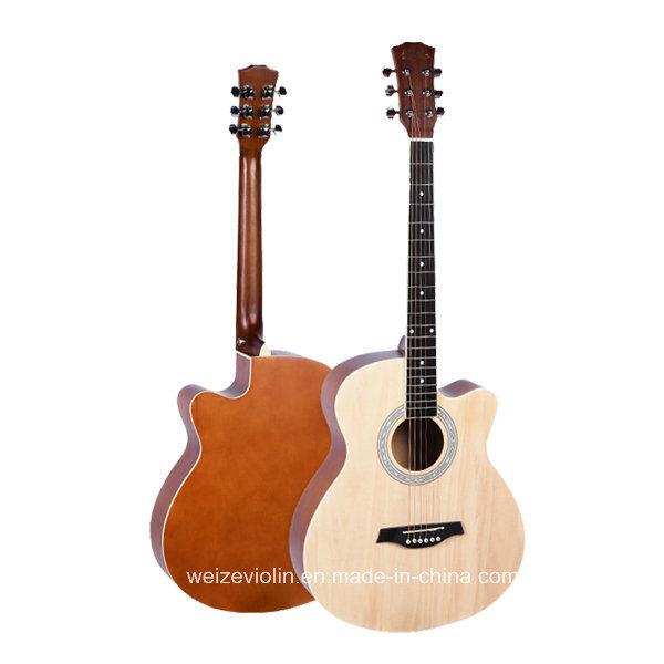 "40"" Cutaway Acoustic All Linder Polywood Guitar"