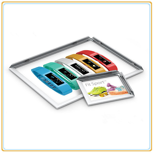 Snap Slim Aluminum Metal Photo Frames