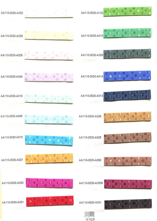 Nylon Ribbon for Clothing/Garment/Shoes/Bag/Case