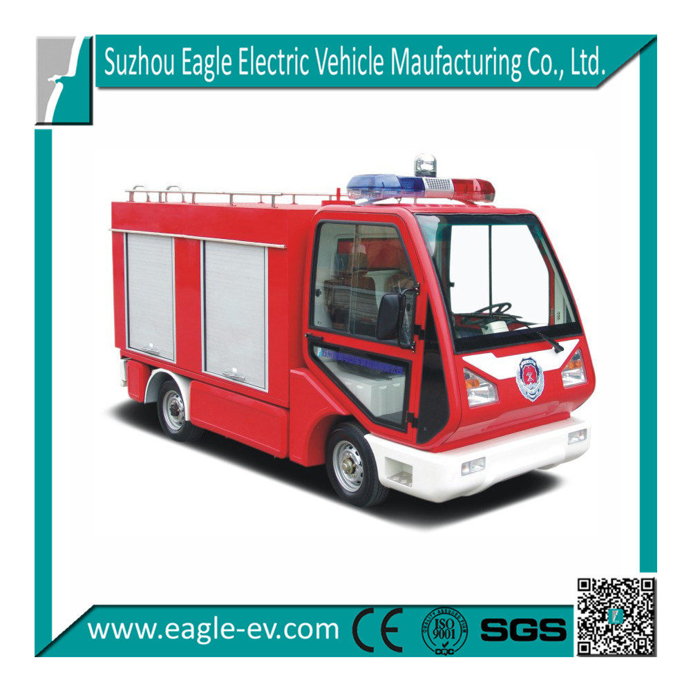 Fire Fighting Truck, CE, Electric, 1.3 M3 Water Tank, for Emergency Fire Fighting in Closed Area