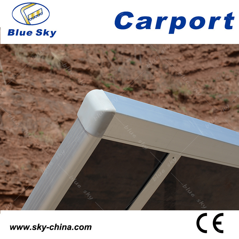 Waterproof Aluminum and Polycarbonate Carport (B800-1)