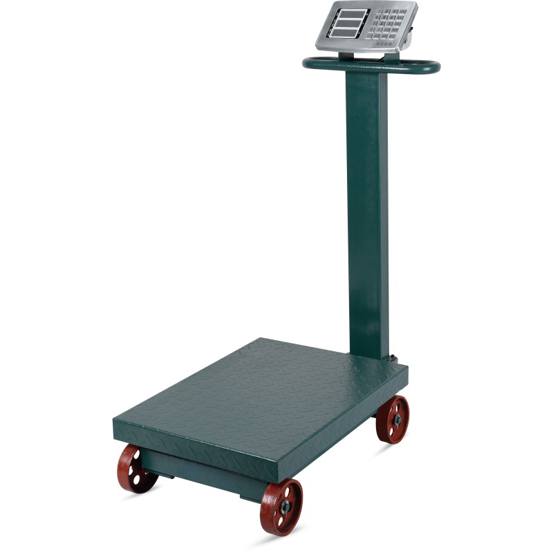 Electronic Digital Weighing Platform Scale with Wheel (DH-839)