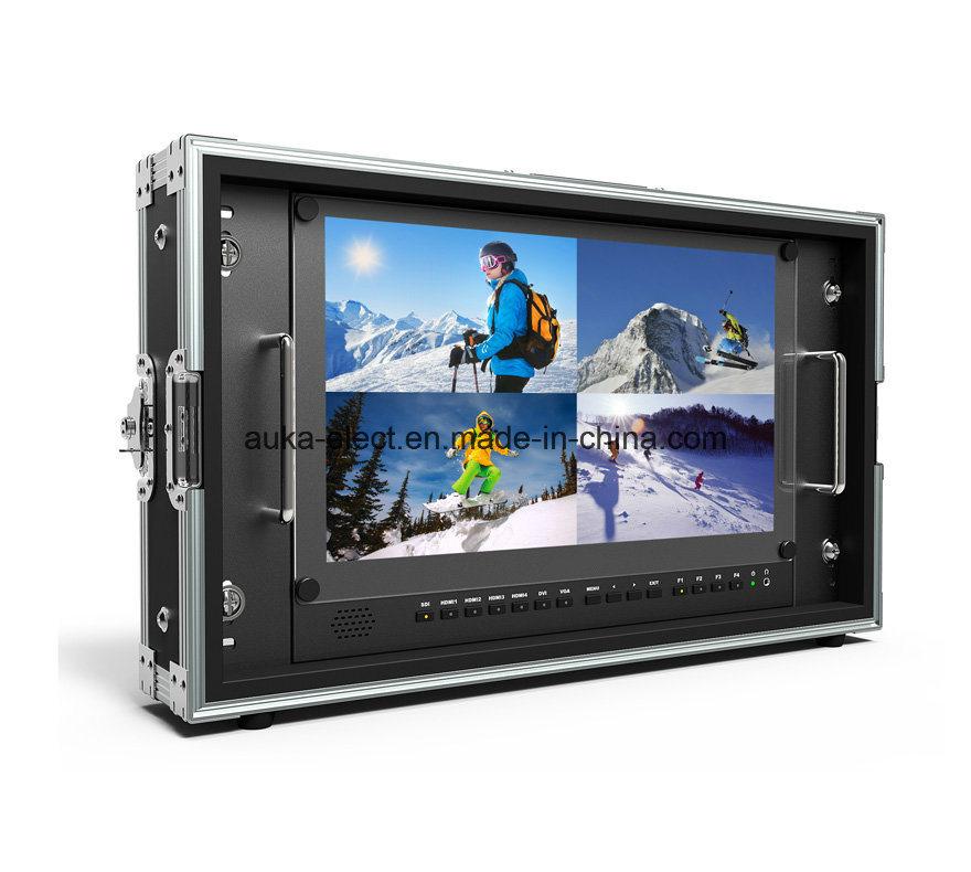"15.6"" 4k 3840*2160 Broadcast Director Monitor with 3G-Sdi, HDMI, DVI"
