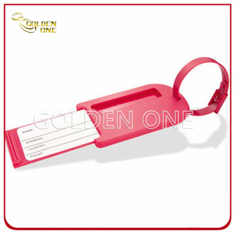 Novel Design Embossed Soft PVC Luggage Tag