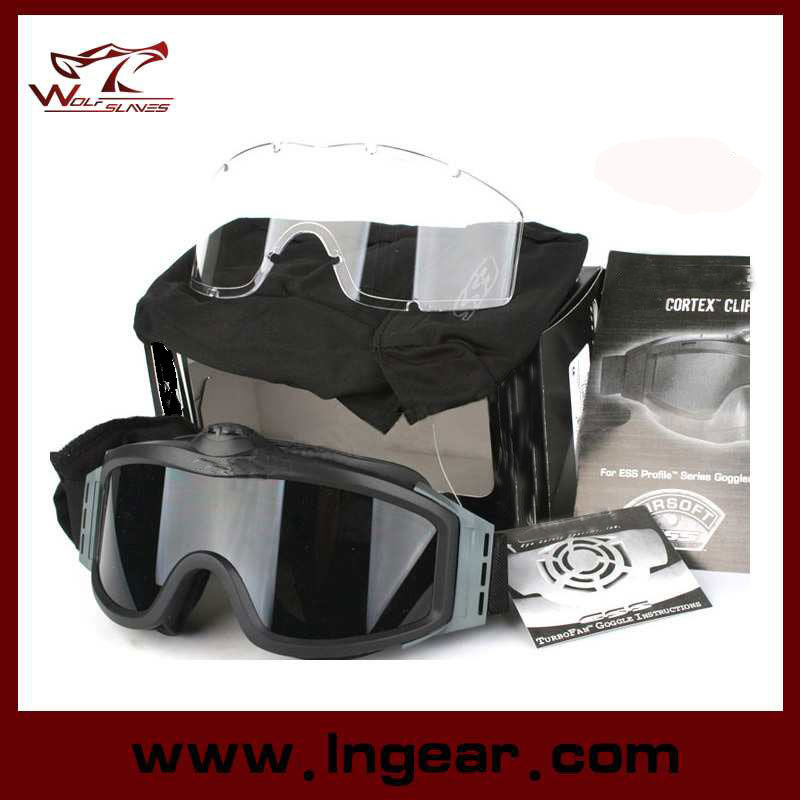 Airsoft Goggle Tactical Turbofan Goggles with 2 Speed