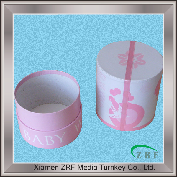 Round Paper Packing Box Paperboard Packaging Box
