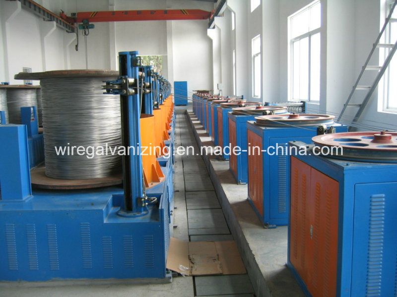 Steel Wire Electro Galvanizing Production Line with Ce Certified