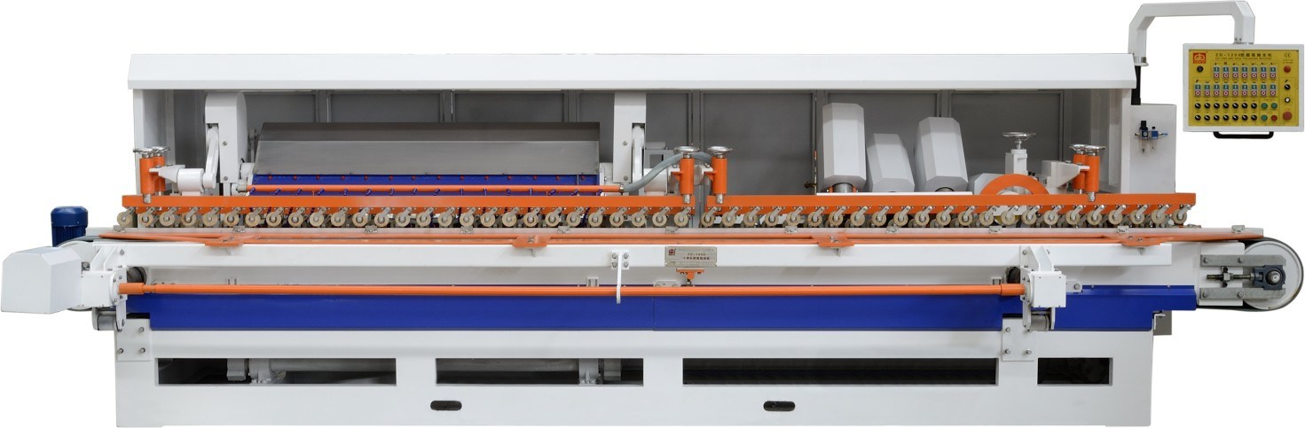 Arc Edge Polishing Machine for Stone Processing with 14 Heads (ZD-1200)