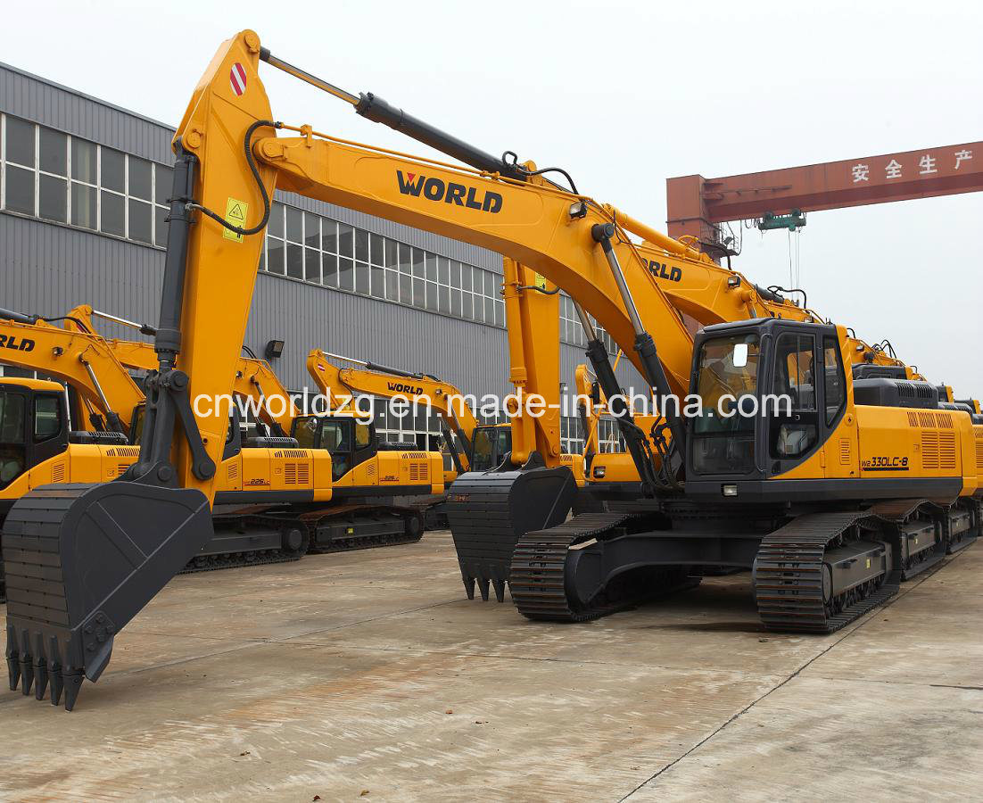 China bucket mining use 33ton excavator photos pictures made in - 1m3 en tonne ...