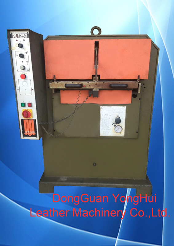 Used Italy Hydraulic Atom Leather Embossing Machine (PL1250)