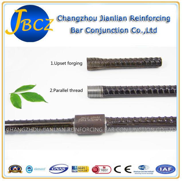 Dextra Aci-318 Standard Upset Forging Parallel Thread Rebar Sleeve Coupler