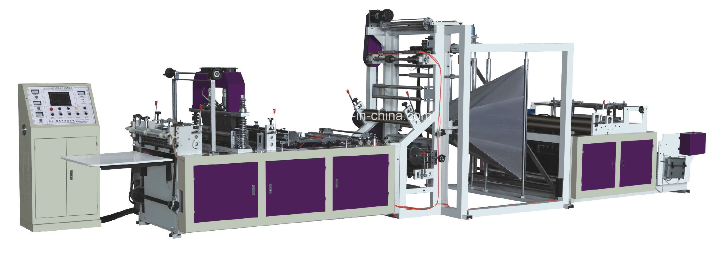 PP Nonwoven Fabric Bag Making Machine (WFB-600A)
